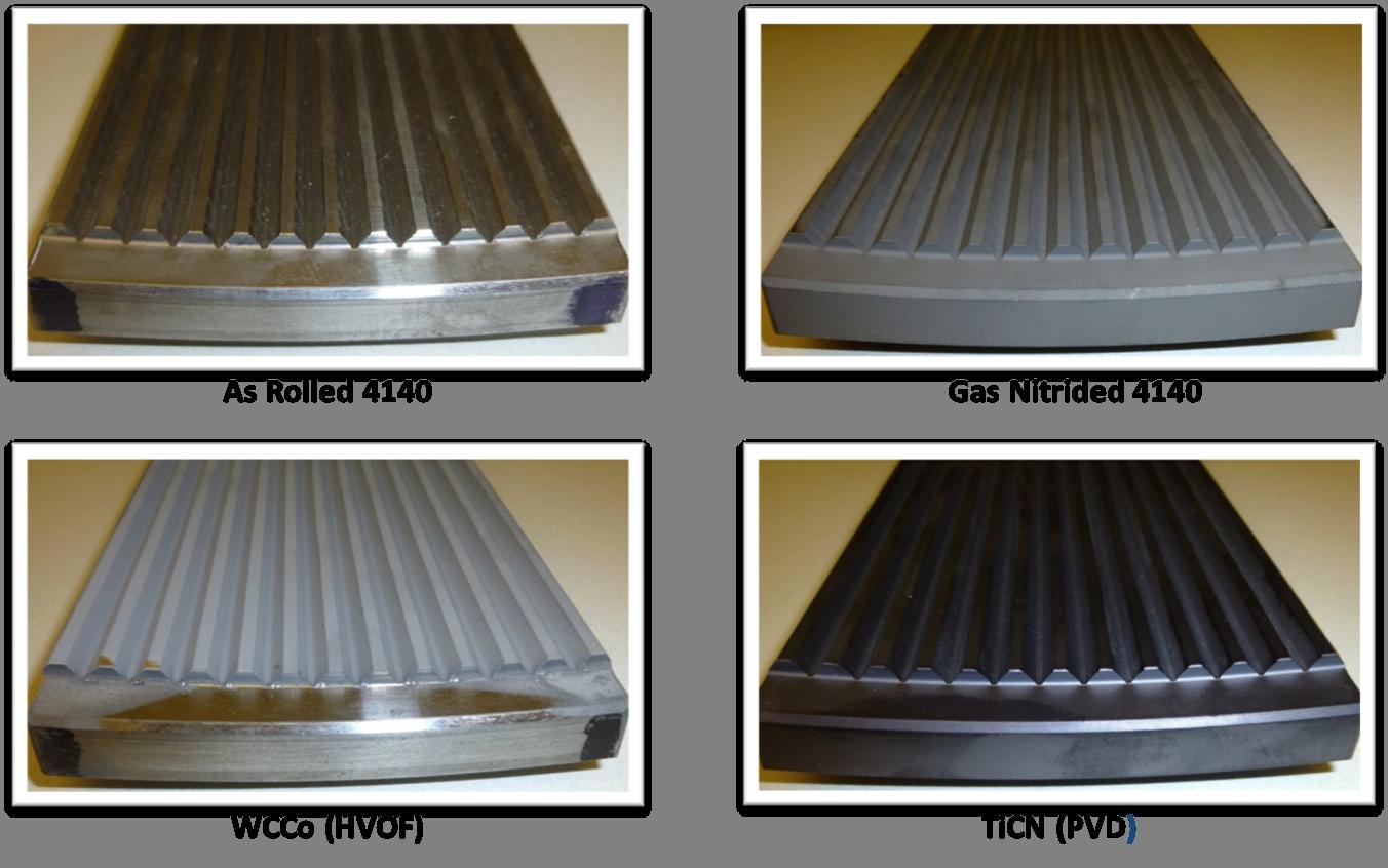 HVOF Tungsten Carbide Cobalt Wear Test Comparison